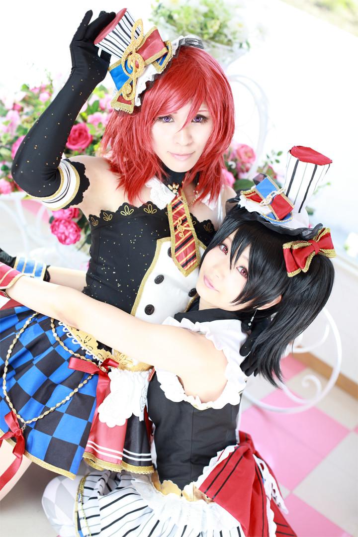 ラブライブ! スクフェスメイド覚醒後 model:まさき(西木野真姫) & ぷー(矢澤にこ)