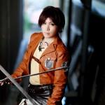 進撃の巨人 エレン・イェーガー model:ユージ☆