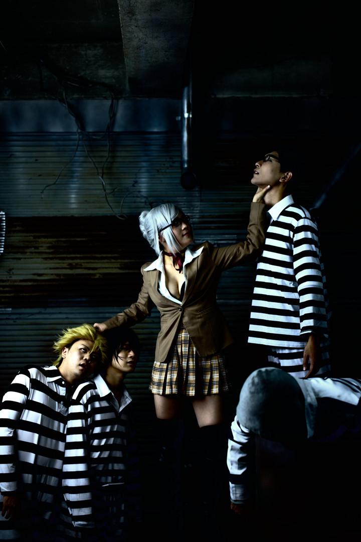監獄学園 model:白木芽衣子(空綺一愛) キヨシ ガクト(西妻) シンゴ(なう) ジョー(ゆーたぁん )