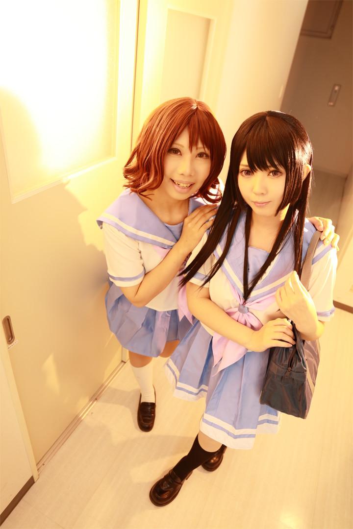 響け!ユーフォニアム 気前久美子 & 高坂麗奈 model:ちゃき & yun