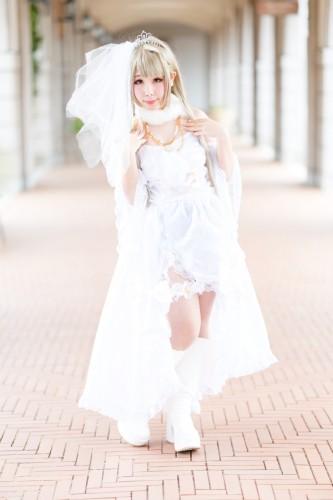 ラブライブ! スクフェス ウエディングドレス  model:緋梛(南ことり)