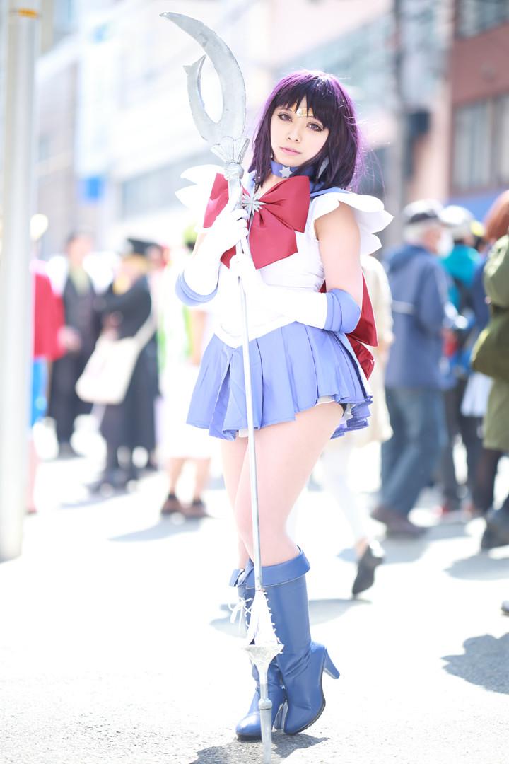 美少女戦士セーラームーン セーラーサターン model:アサ