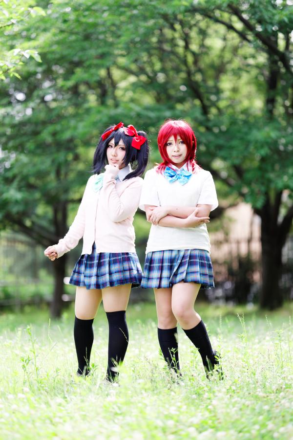 ラブライブ!矢澤にこ(每栖) & 西木野真姫(アサ)