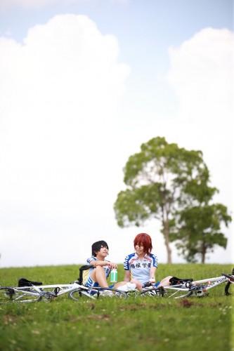弱虫ペダル 荒北靖友 & 新開隼人 model:美桜 & 恋歌