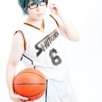 黒子のバスケ 緑間真太郎 秀徳ユニフォーム model:ユージ☆