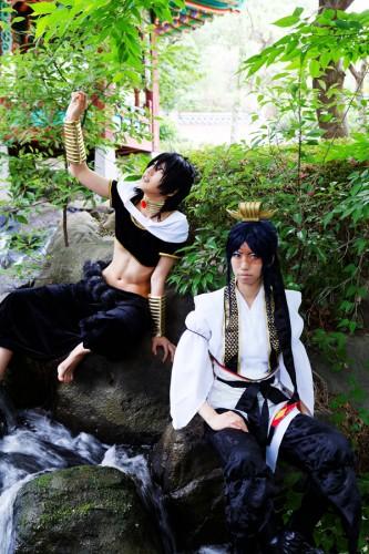 マギ りるる(ジュダル)&紫禄(白龍)