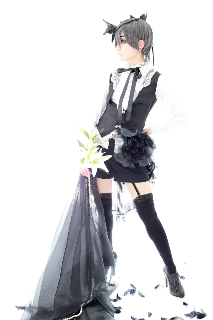 黒執事 モノクロのキス シエル・ファントムハイヴ model:瑠花