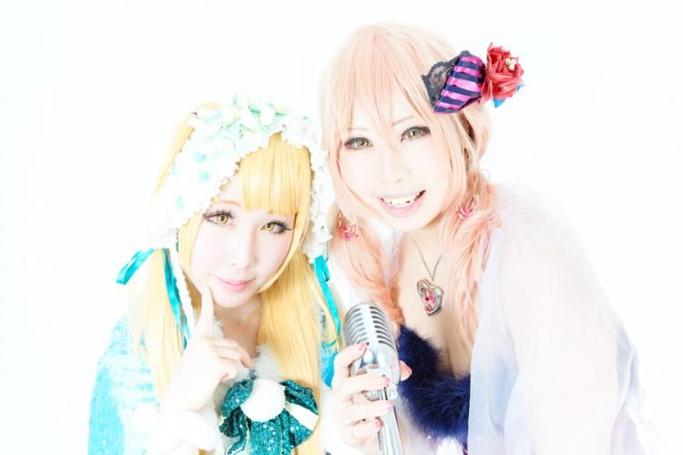 アイドルマスターシンデレラガールズ クリスマスver. model:緋梛(城ヶ崎莉嘉)& 咲季(城ヶ崎美嘉)