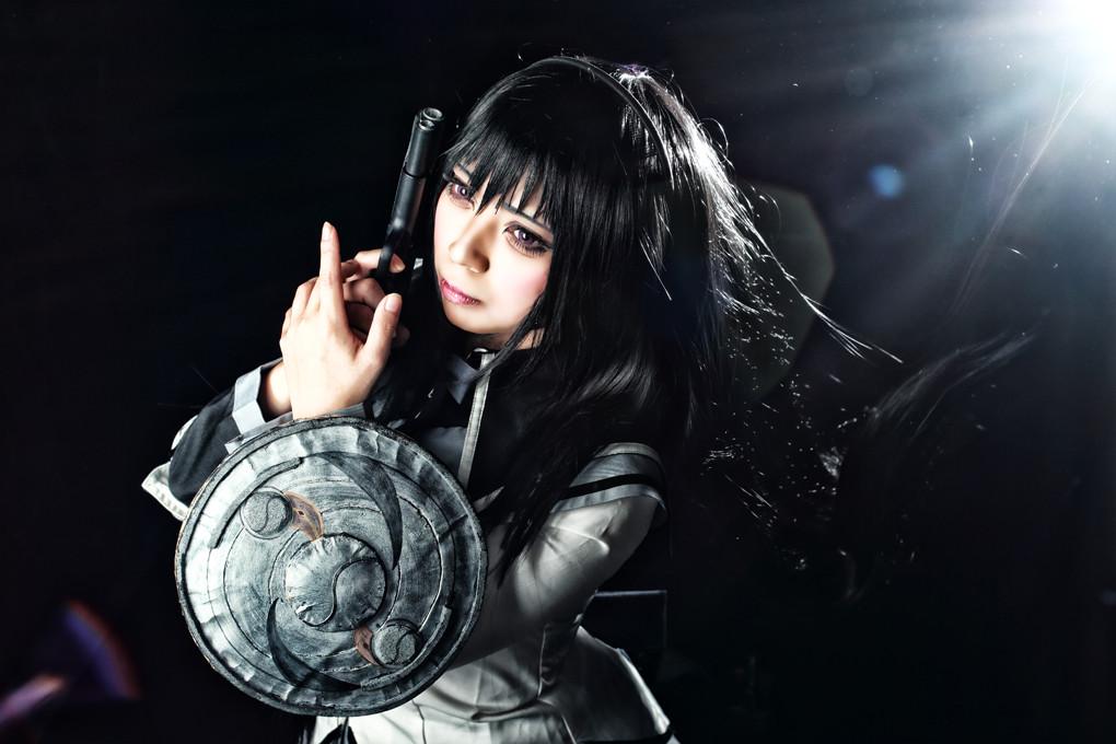 魔法少女まどか☆マギカ 暁美ほむら model:アサ