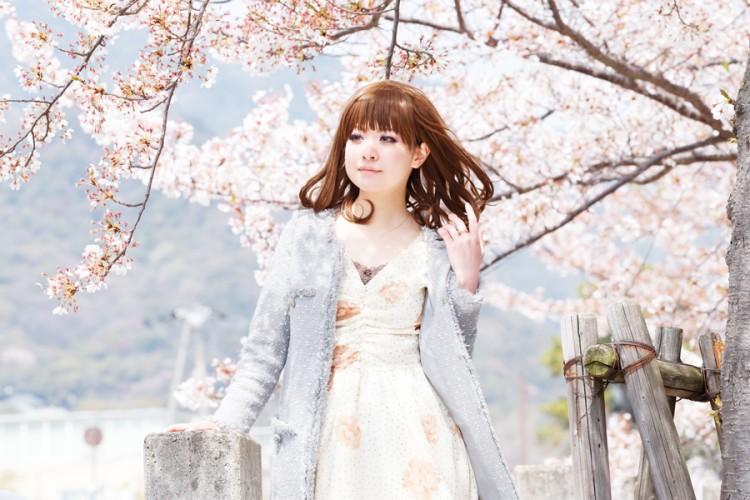 ポートレート 桜 model:瑠花
